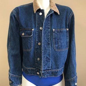 Vintage Ralph Lauren dungarees trucker jacket M